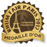 Médaille d'or rhum de dégustation RFP 2012