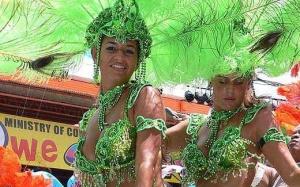 Carnaval sur l'île de Trinidad et Tobago