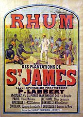 Affiche rhum Saint James