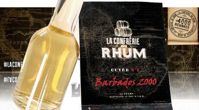 Cuvée de la Confrérie du Rhum – Rhum Barbados 2000