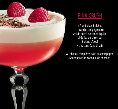 cocktail Arcane pink-crush