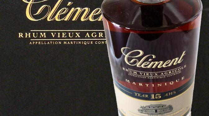 Lancement en édition très limitée d'un rhum vieux Clément 15 ans