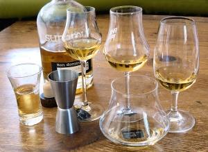 comparatif verres à rhum