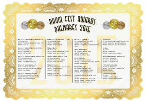 Rhum Fest Awards 2015