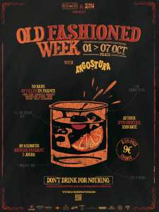 Affiche Old Fashioned Week