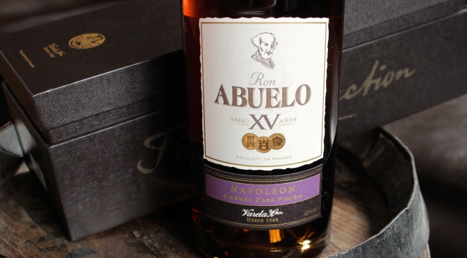 Dégustation ABUELO XV collection «cask finish»