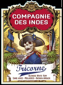 Compagnie des indes -Tricorne - rhum blanc
