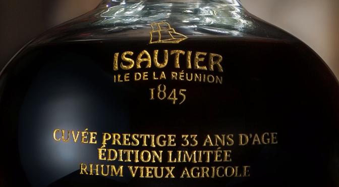 Un rhum de 33 ans d'âge chez Isautier
