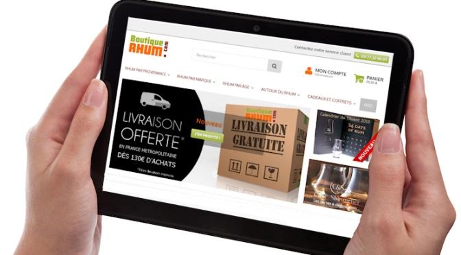 Boutique-Rhum.com : une nouvelle version du site en ligne.